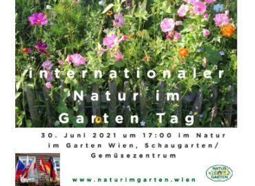 internationaler Natur im Garten Tag 2021