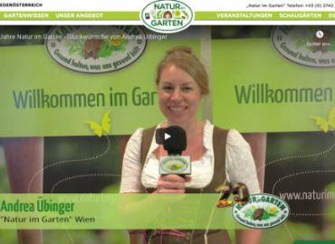 Glückwünsche aus Wien Ing. Andrea Übinger