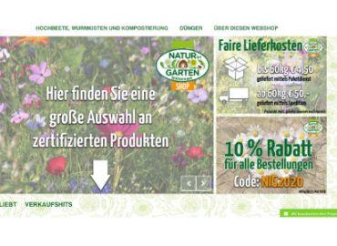 Natur im Garten Gütesiegel online SHOP