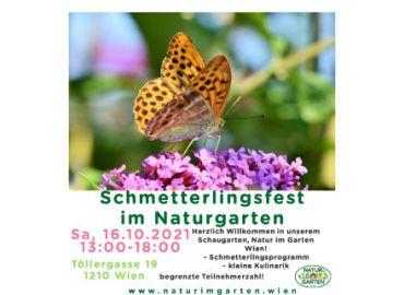 Schmetterlingsfest 2021 im Naturgarten
