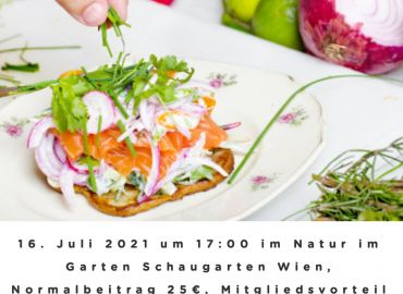 Essbare und gesunde Wildkräuter am 16. Juli 2021